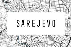 Maps of Sarajevo