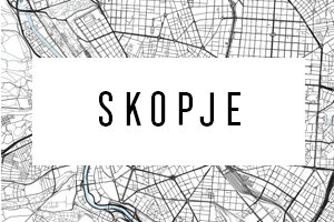 Maps of Skopje