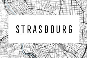 Maps of Strasbourg