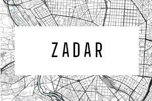 Maps of Zadar