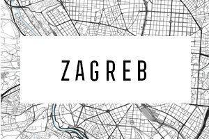 Maps of Zagreb