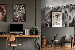 Wall murals for the office