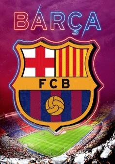 3D Julisteet Barcelona - crest
