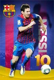 3D Julisteet Barcelona - Messi 11/12