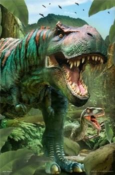 3D Julisteet Dinosaurus T-Rex