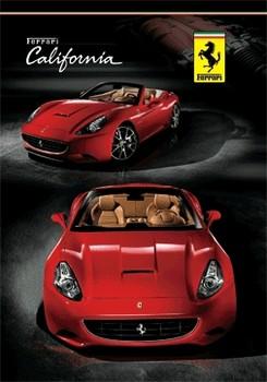 3D Julisteet Ferrari - california