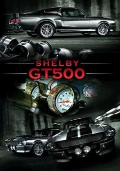3D Julisteet Ford Shelby - mustang gt 500 3D