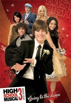 3D Julisteet HIGH SCHOOL MUSICAL 3