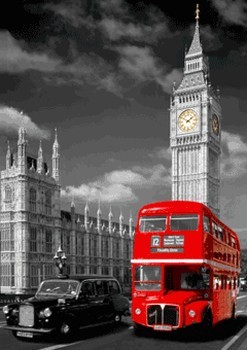 3D Julisteet LONDON - big ben