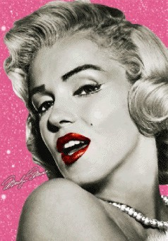 3D Julisteet Marilyn Monroe - wink 3D