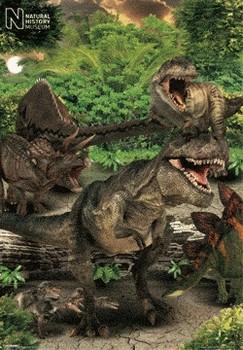 3D Julisteet Natural history - dino