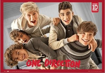 3D Julisteet One Direction - band