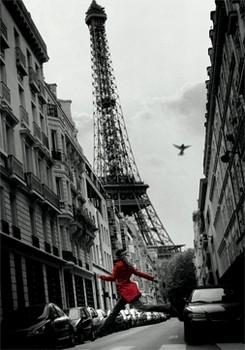 3D Julisteet Red coat