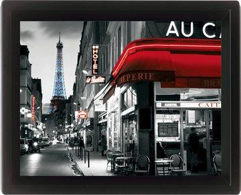 RUE PARISENNE 3D kehystetty juliste