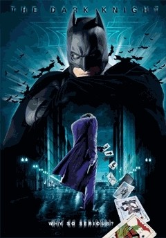 3D poster BATMAN DARK KNIGHT - 3D