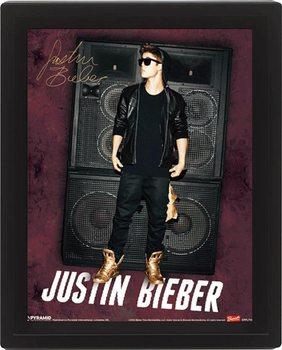 3D Poster JUSTIN BIEBER speakers