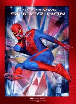 3D poster SPIDER-MAN AMAZING - stick with me
