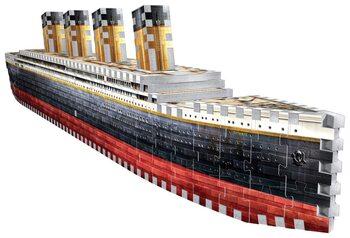 Palapeli 3D Titanic