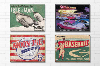 Retro -  Metal Signs