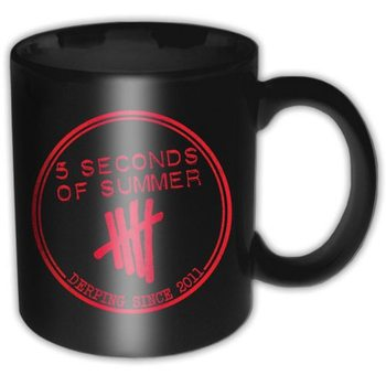 Cup 5 Seconds Of Summer - Derping Stamp