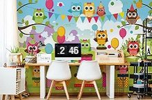 Wall murals for the children's room
