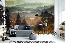 Wall murals for a teenager's room