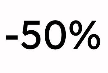 - 50% Myynti