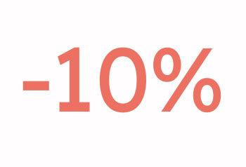 -10% Myynti