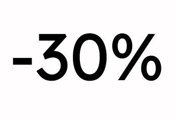 - 30%  - Ale