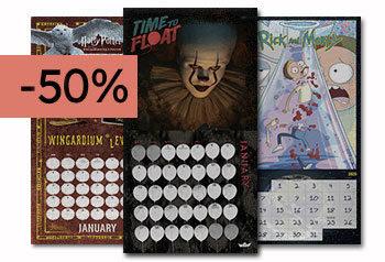 - 50% OFF - Calendars 2020