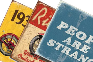 Retro & Vintage - Metal Signs