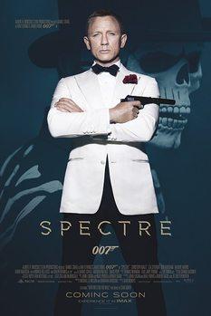 007 Spectre - Skull Poster