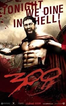 300 - tonight we dine in hell Affiche