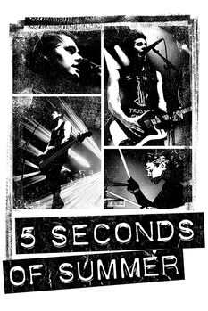 5 Seconds of Summer - Photo Block Affiche