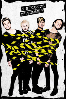 5 Seconds Of Summer - Tape Affiche
