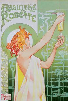Absinthe Robette Affiche