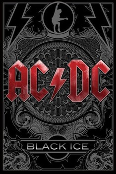 AC/DC - black ice Affiche