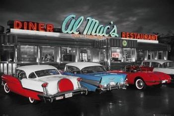Al Mac's diner Affiche