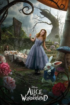 Alice in wonderland - alice Affiche