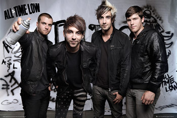 All time low - Spray Affiche