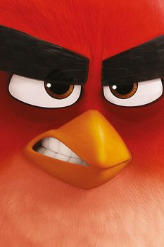 Angry Birds - Red Affiche