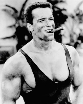 Arnold Schwarzenegger - Cigar Affiche