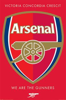 Arsenal FC - Crest Affiche