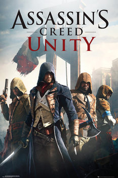 Assassin's Creed Unity - Cover  Affiche