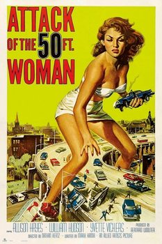 Attack Of The 50Th Woman Affiche