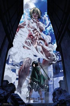 Attack On Titan - Part 2 Art Affiche