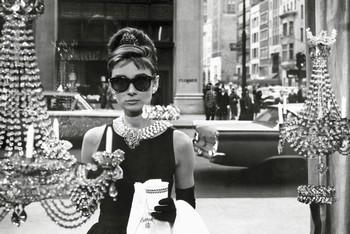 Audrey Hepburn - window Affiche
