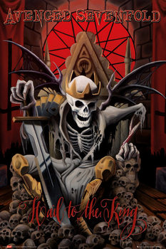 Avenged Sevenfold - hail to the king Affiche