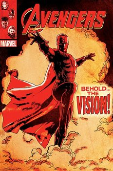 Avengers 2: L'Ère d'Ultron - Behold The Vision Poster