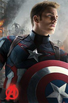 Avengers 2: L'Ère d'Ultron - Captain America Affiche